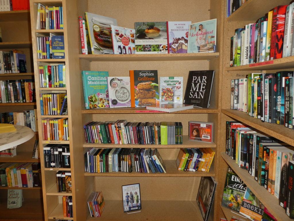 Bücherei auch während Corona Einschränkungen weiter offen