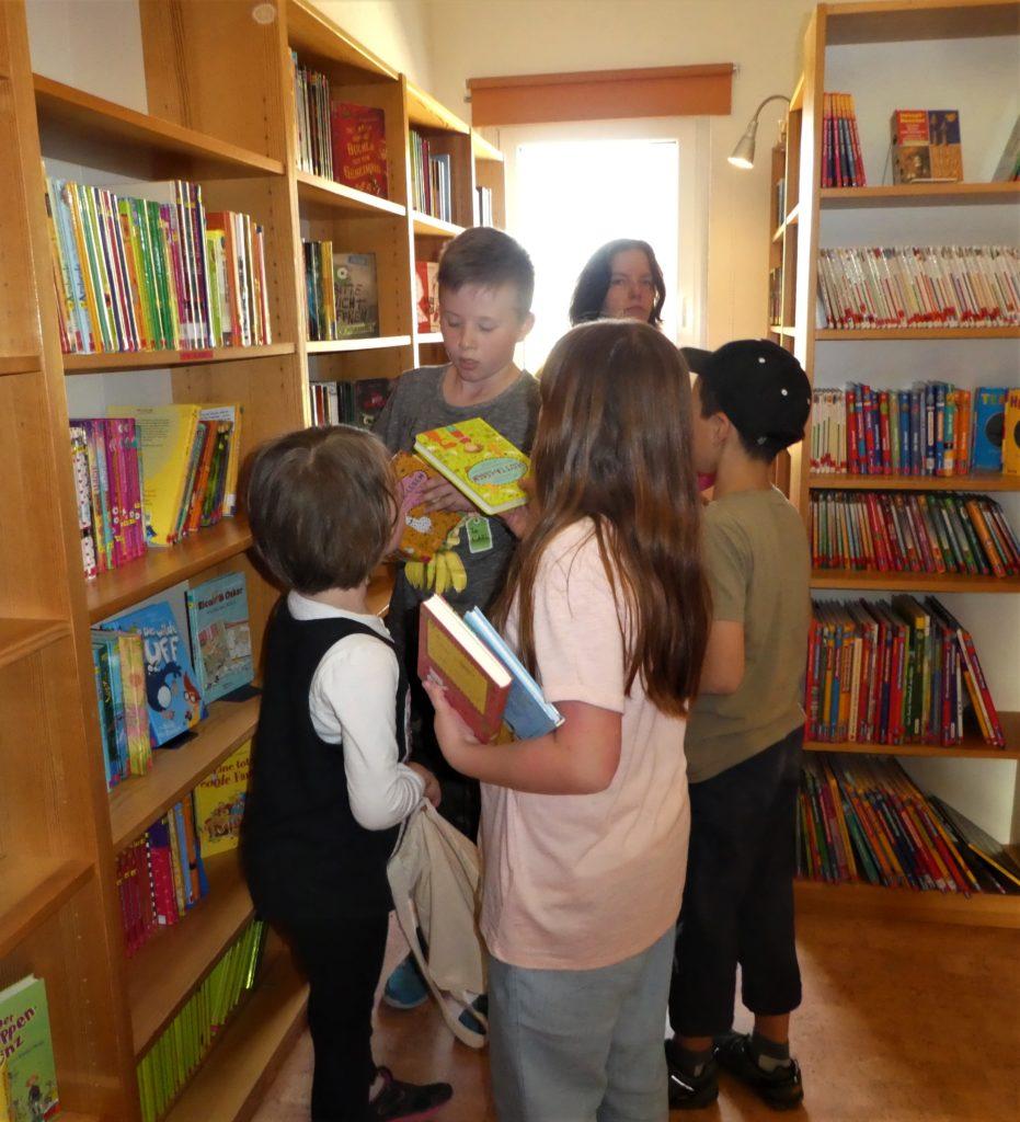 Bücherei auch im Lockdown offen